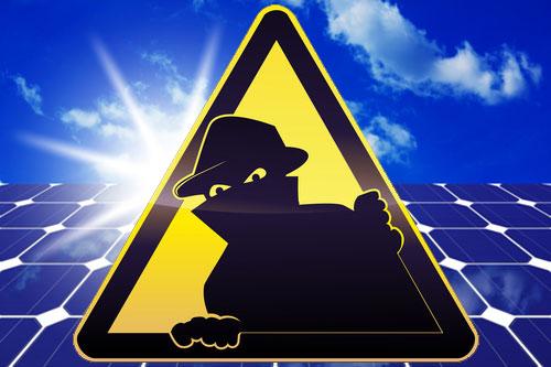 A solar crook