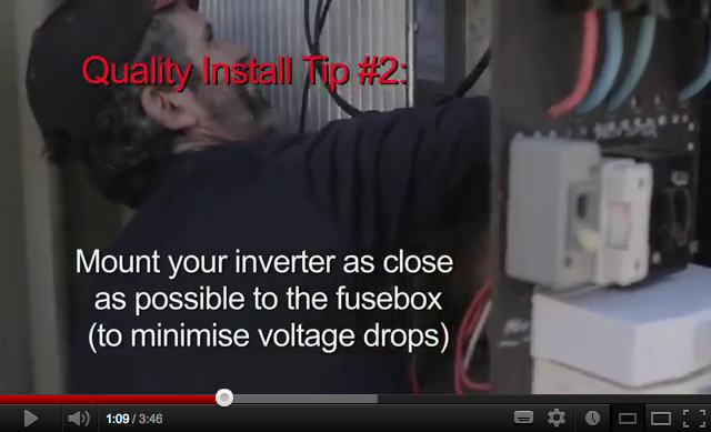 Solar Inverters and Voltage Drops - What you need to know