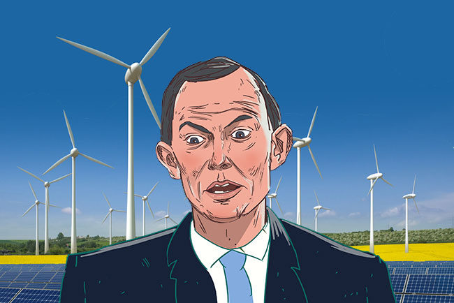 tony abbott and renewables