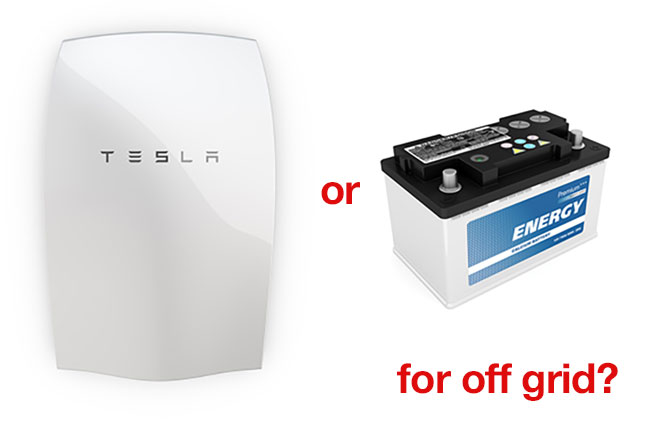 Powerwall Vs Lead Acid Batteries Which Is Best For Off