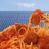 meatballs and solar panels