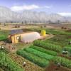 a solar powered micro farm