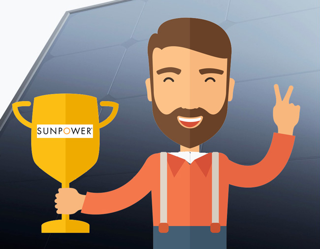 sunpower solar panels efficiency