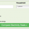 electricity tariff comparison tool