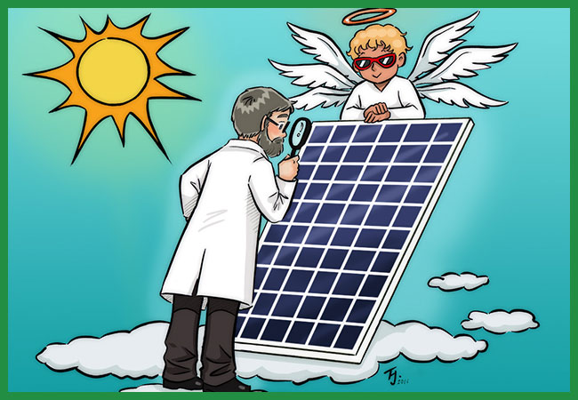 seraphim solar panels being reviewed by Ronald