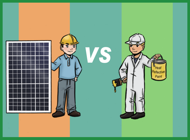 Solar Air Conditioning Vs  Heat Reflective Paint - Solar Quotes Blog