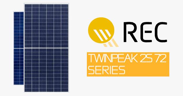 Rec Launches Twinpeak 2s 72 Series Solar Panels Solar