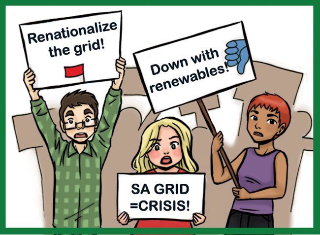 The 'SA Energy Crisis' Is A Myth Peddled By Liars - Solar