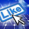 liking solar on social media