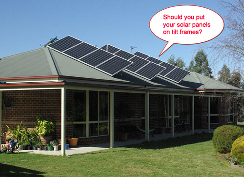 Solar Panel Tilt Frames: Are they worth it? - Solar Quotes ...