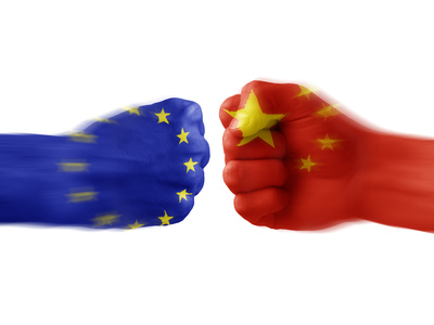 chinese and EU fists