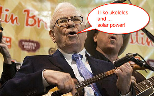 Buffett S Big Bet On Solar Solar Quotes Blog