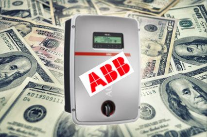 an aurora inverter surrounded by cash