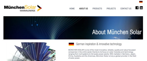 munchen solar website