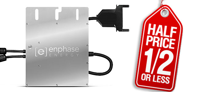 enphase costs: half price by 2017