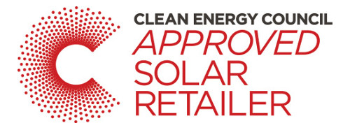 CEC Approved Solar Retailer badge