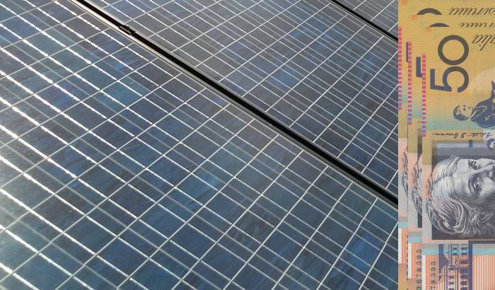 Electricity bill savings from solar panels