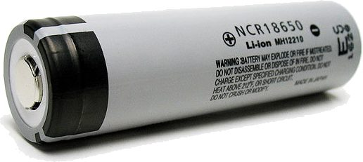 Panasonic NCR18650 battery cell