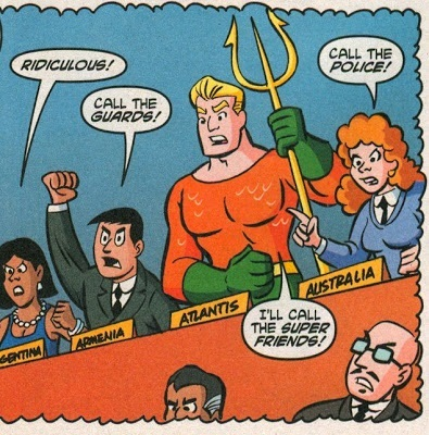 Aquaman in the UN