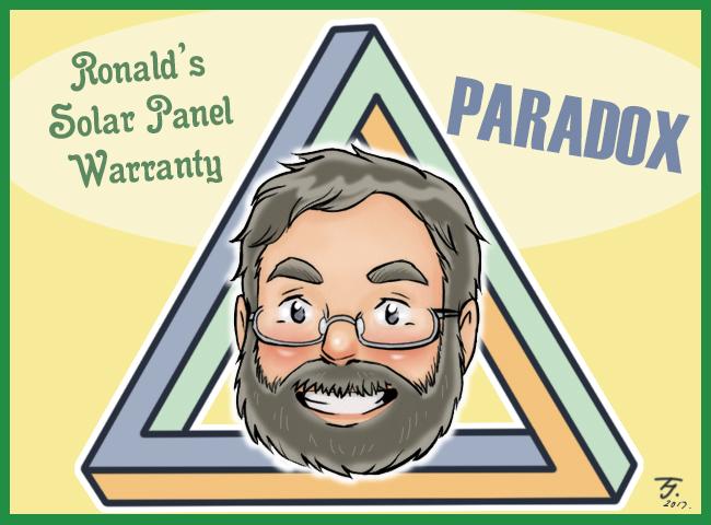 solar panel warranty paradox