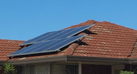 How close to the edge of your roof can your solar panels go?