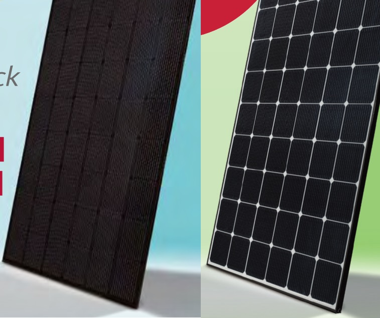 Black Solar Panels Look Nice But Are Less Efficient