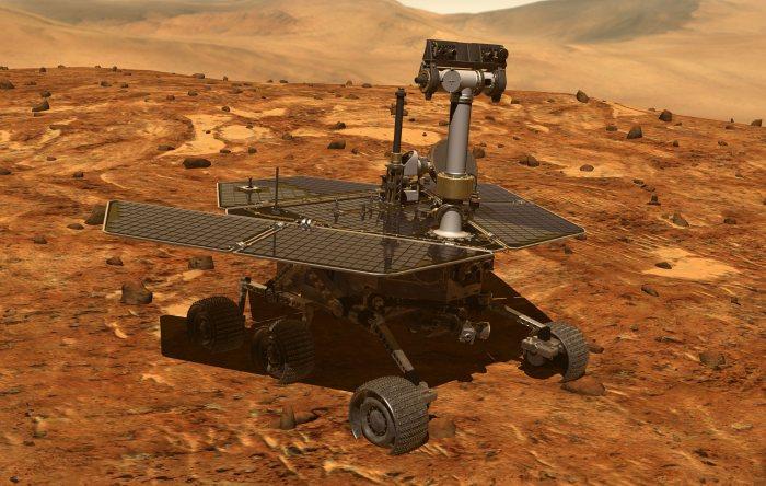 Solar Powered Rover Sees 5,000th Martian Dawn - Solar ...