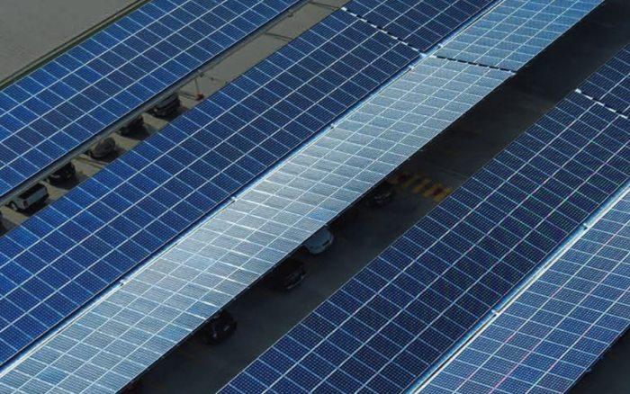 Sydney Markets solar power system
