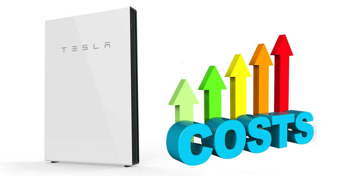 Tesla Powerwall 2 price rise