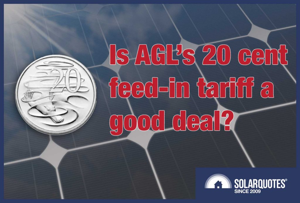 Is AGLs 20c Solar Savers Feed In Tariff A Good Deal Or Not?