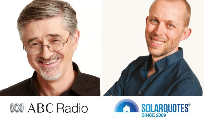 Battery subsidy discussion - ABC Radio Adelaide