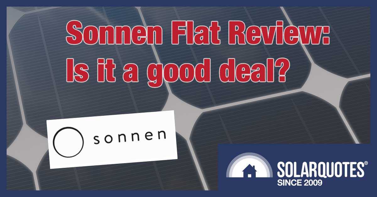 sonnenFlat review