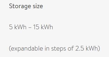 Sonnen battery capacity