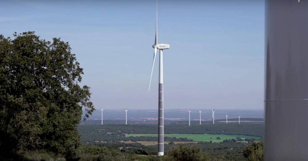Acciona wind and solar energy hybrid