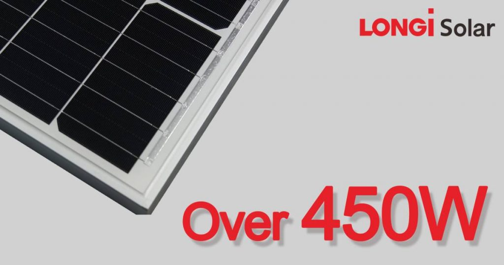 Longi's 450 Watt Solar Panel Record Claim – Solar Power