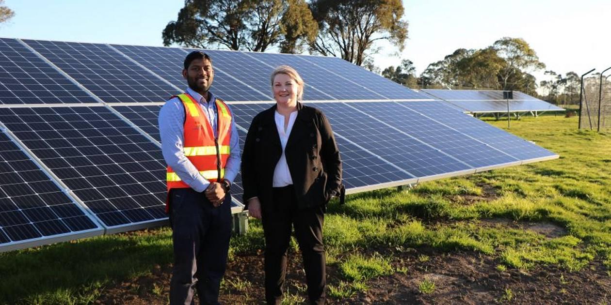 Gippsland Water - solar energy