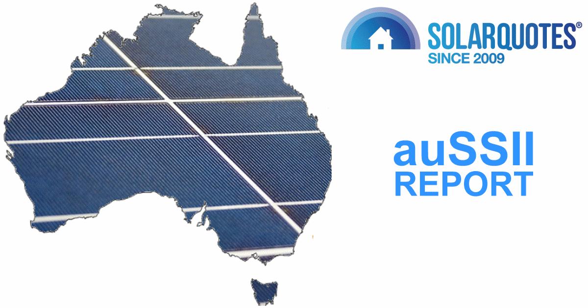 auSSII solar report - October 2019