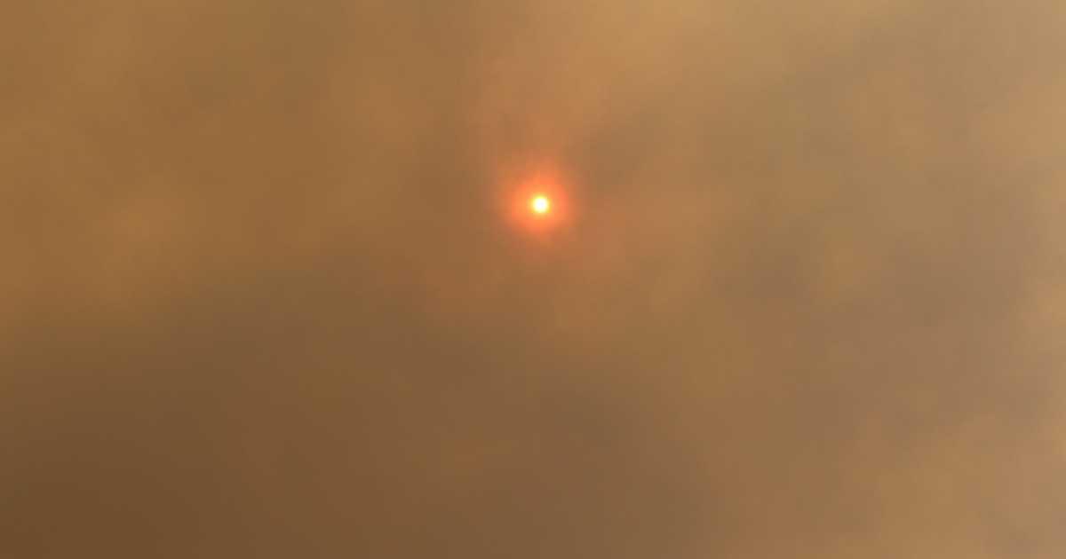 Solar panels and bushfire ash