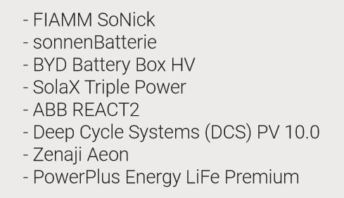 Upcoming solar battery testing