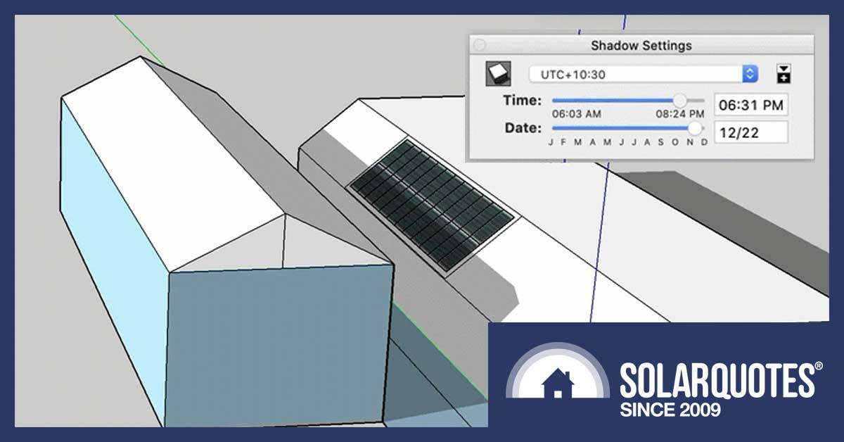 How to do solar panel shading analysis