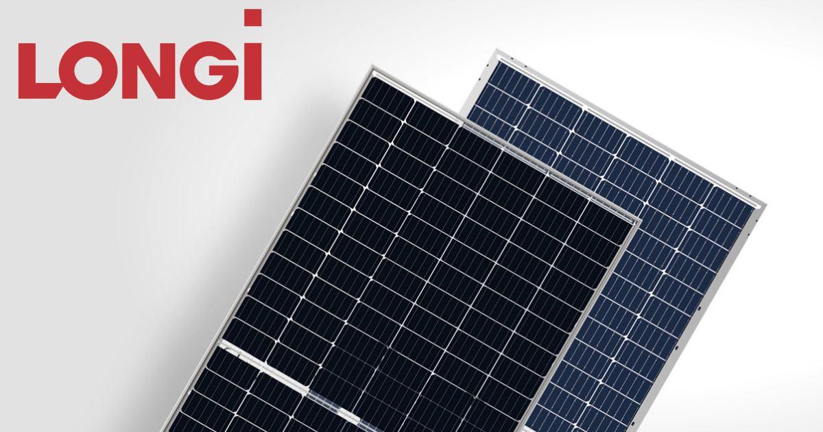 Longi Solar - năng lượng tái tạo