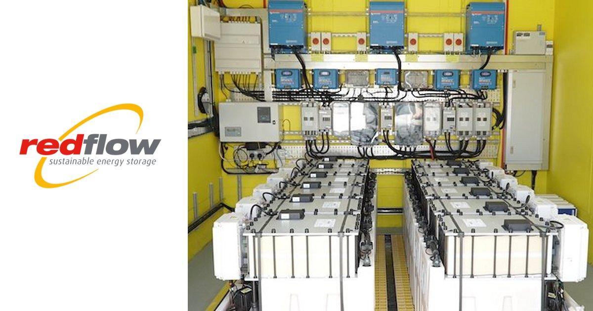 Redflow battery installation - Swansea University