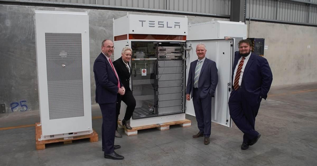 Tesla Powerpack - Kalgoorlie community battery