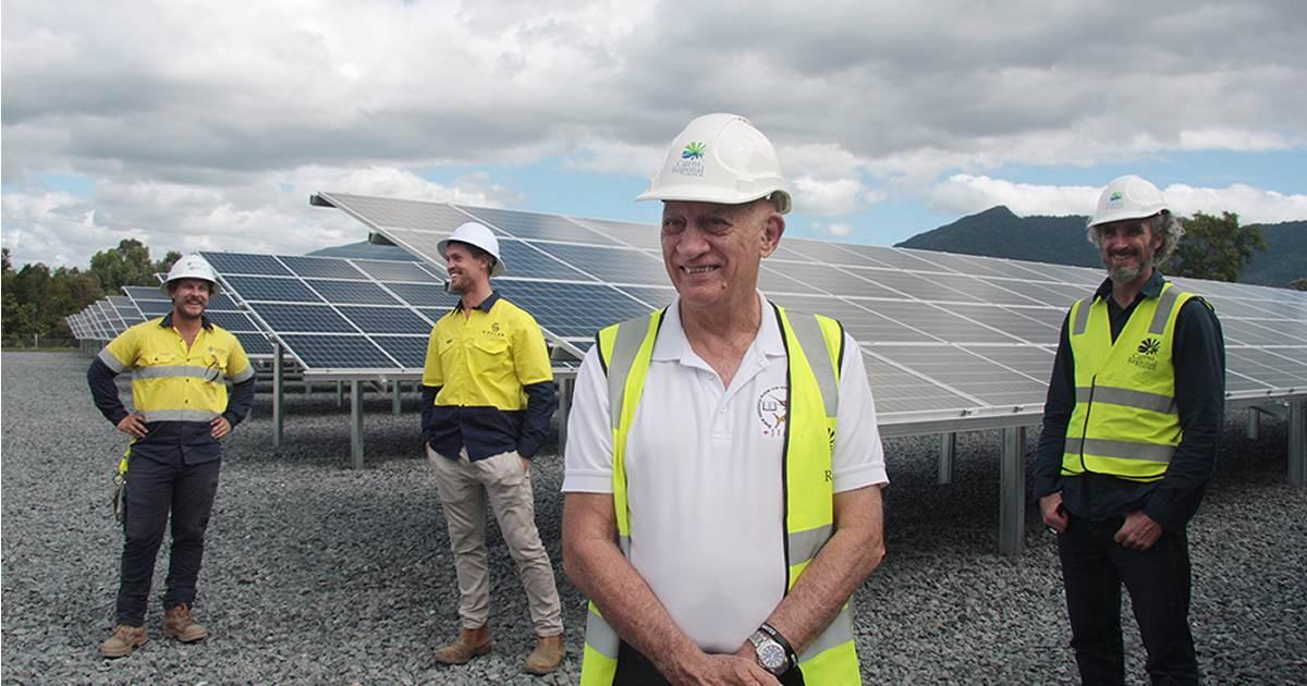 Cairns Council solar rollout