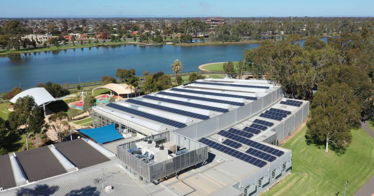 Aquamoves solar panel installation - Shepparton