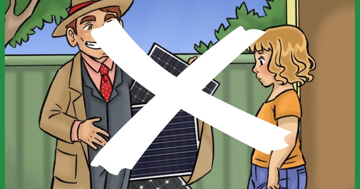Door to door solar sales in Victoria