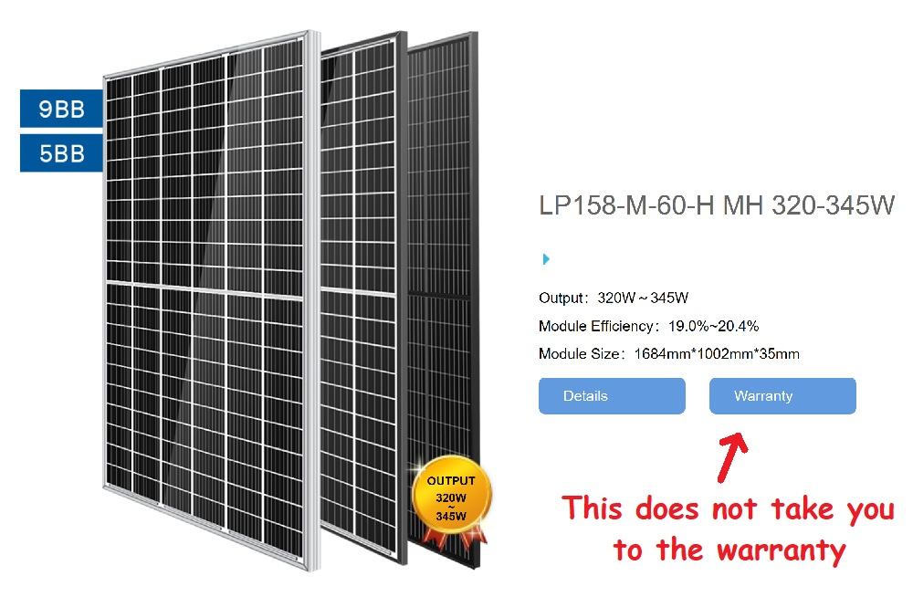 Leapton solar panels - 60 cell, half-cut