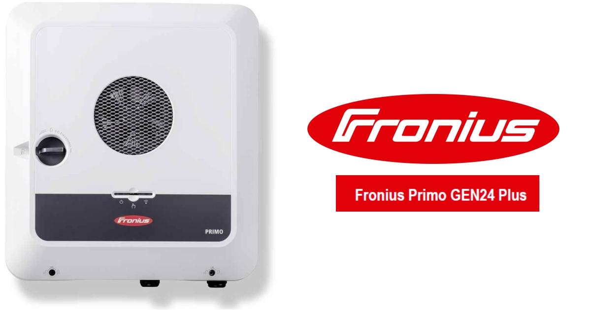 Fronius Primo GEN24 Plus single phase hybrid inverter