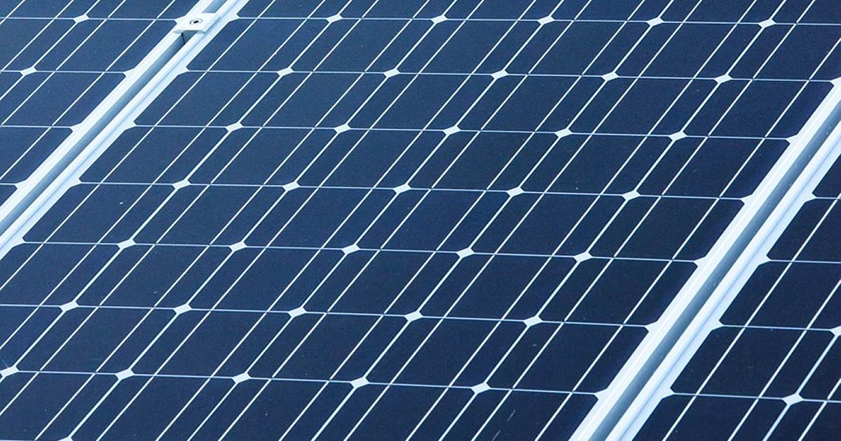 Solar panels and flood events