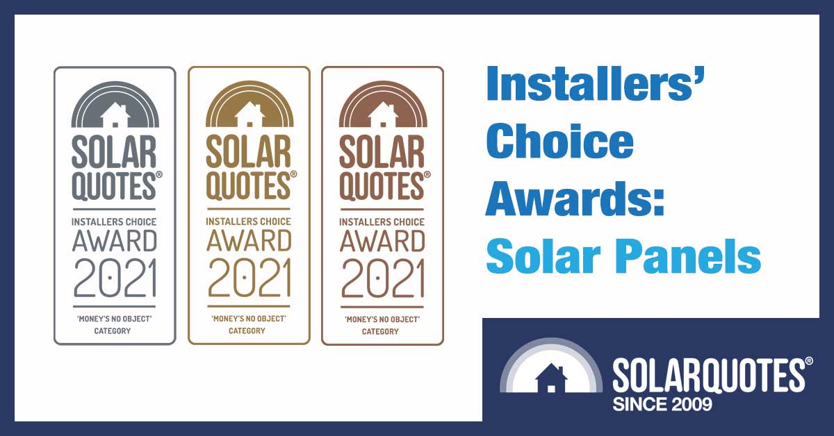 Best solar panels in 2021 chosen by Australian installers